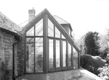 Extension to Detached House in Conservation Area in Bidborough, Kent